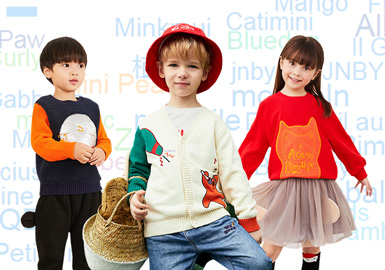 TOP 30 -- Hot Brands in Kidswear Retail Market in 2019