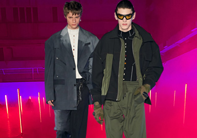 Reaching The Summit at Dawn -- The Catwalk Analysis of FENG CHEN WANG Menswear