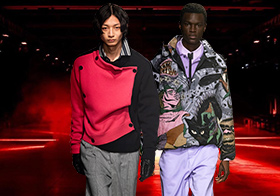 Horror Aesthetics -- The Catwalk Analysis of MSGM Menswear