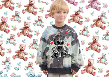 The Bear -- The Pattern Trend for Kidswear