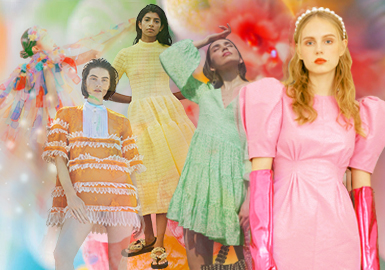 Spring Blossoms - Theme Color Trend for Womenswear
