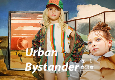 Urban Bystander -- S/S 2021 Theme Trend for Kidswear