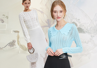 Commuting Ladies -- The Comprehensive Analysis of Women's Knitwear of Chinese Lady Style Benchmark Brands