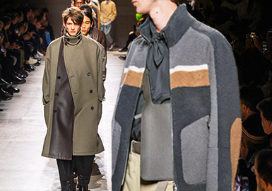 Creation -- The Catwalk Analysis of Men's Leather/Fur of Hermes
