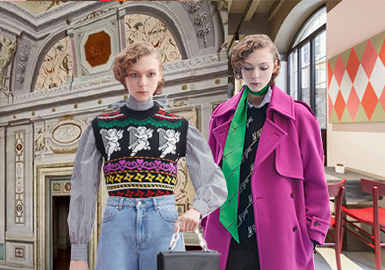 The Collision of Classics and Modernity -- The Catwalk Analysis of MSGM Womenswear