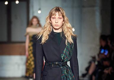 Check Meeting -- The Catwalk Analysis of Monse Womenswear
