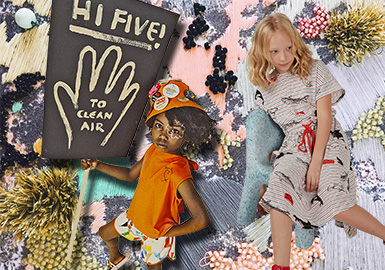 Friends of Nature -- The Pattern Craft Trend for Kidswear