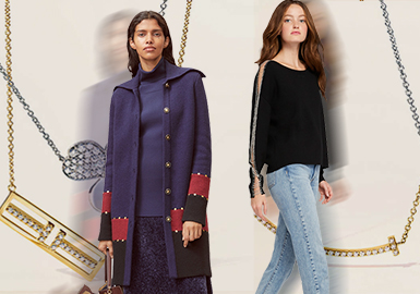 More and More Exquisite -- The Accessory Trend for Women's Knitwear