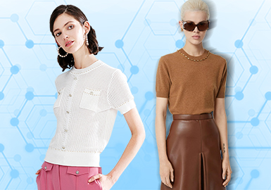 T-Shirts -- The TOP List of Women's Knitwear