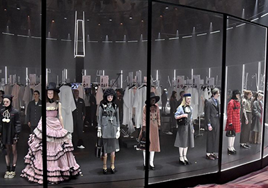 A Doll's House in Fairy Tale -- The Catwalks Analysis of Gucci Womenswear