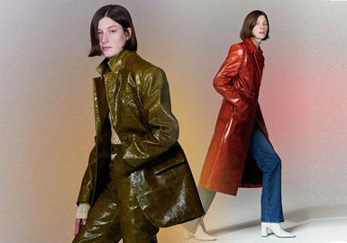 Simple and Neat -- The Silhouette Trend for Women's Leather clothing