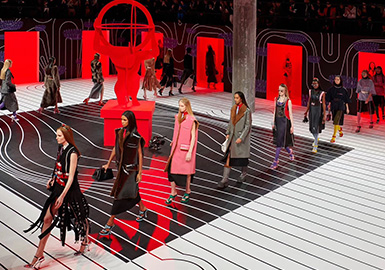 Surreal Glamour -- The Catwalk Analysis of Prada Womenswear