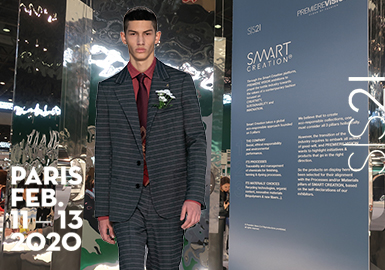 Transformed Business -- The Comprehensive Analysis of Menswear Fabrics of Première Vision (2)