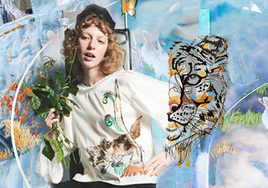 Jungle Games -- The Pattern Craft Trend for Womenswear