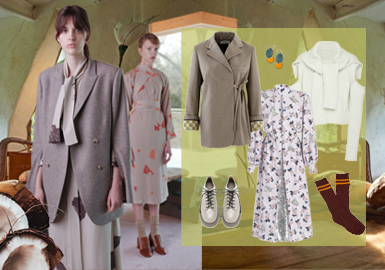 Knowing The World Though Staying Indoors – Clothing Collocation for Womenswear