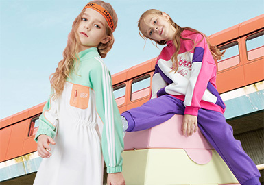 Colorful Early Spring -- The Comprehensive Analysis of Girls' Sweatshirts from Benchmark Brands