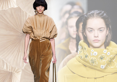 The Power of Optimism -- The Comprehensive Analysis of Colors of Women's Knitwear in The Four Fashion Weeks