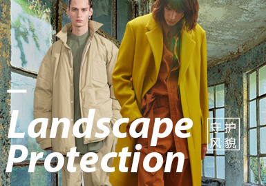 Landscape Protection -- The Confirmation of Menswear Color Trend