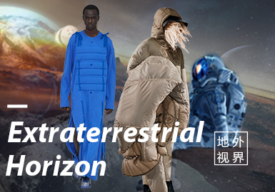 Extraterrestrial Horizon -- The Confirmation of Menswear Color Trend
