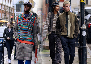 Knitwear -- The Comprehensive Analysis of Men's Knitwear Street Snaps During Fashion Weeks