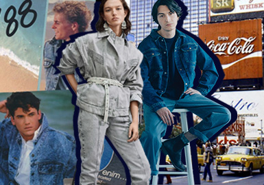 Reproducing 80'S – The Theme Trend for S/S 2021 Denim