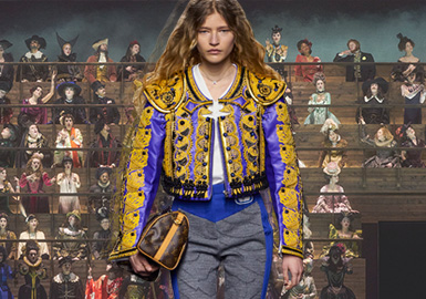 Anachronism -- The Catwalk Analysis of Louis Vuitton Womenswear