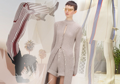 Return of Exquisite Set -- The Silhouette Trend for Women's Knitwear