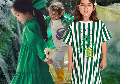 Holly Green -- Color Evolution of Kidswear