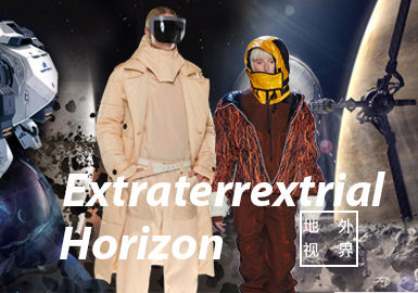 Extraterrestrial Horizon -- The Confirmation of Womenswear Color Trend