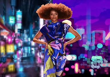 Arcade Pixel Age -- The Pattern Trend for Womenswear