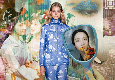 Recreating The Chinese Beauty -- The Craft Detail Trend for Womenswear