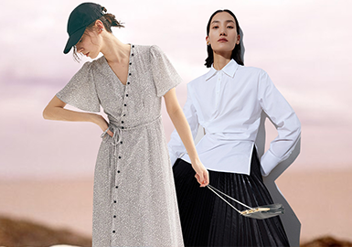 Interpreting Charm of New Women -- The Comprehensive Analysis of Womenswear Benchmark Brands of The Lady Style