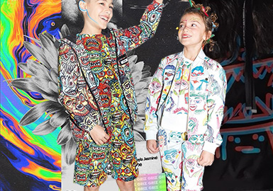 Avant-garde Fashionistas -- The Pattern Craft Trend for Kidswear