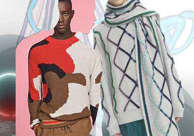 Line and Plane -- The Craft Trend for Men's Knitwear