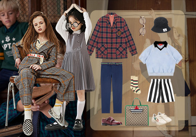 The Preppy Style -- Clothing Collocation for Kidswear