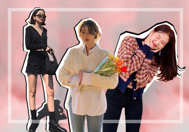 Fashion Bloggers on Instagram -- Sweet Korean Girls