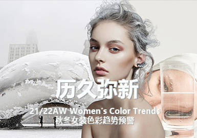 The Everlasting Charm -- Color Trends for A/W 21/22 Womenswear