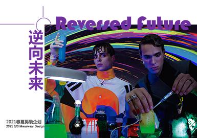 Reversed Future -- Theme Design & Development for S/S 2021 Menswear