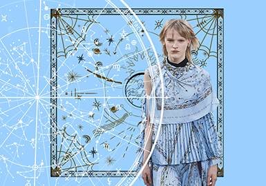 Ancient Star Map -- The Pattern Trend for Womenswear