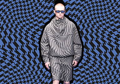 Psychedelic Optical Art -- The Pattern Trend for Menswear