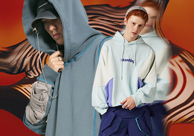 Upgraded Revival -- The Silhouette Trend for Men's Sweatshirts