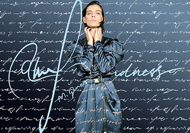 Hand-written Letters -- The Pattern Trend for Womenswear
