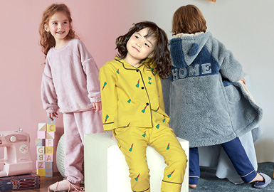 Warm and Healing -- The Color Trend for Kids' Loungewear
