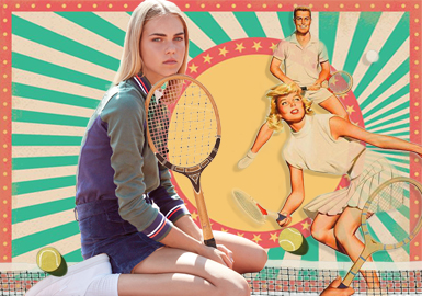 Loving the Net -- Theme Design & Development for Women's Tennis Apparel