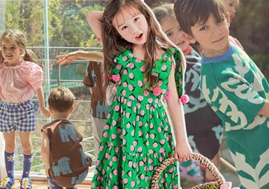 Vibrant Summer Looks -- bebebebe The Kidswear Benchmark Brand