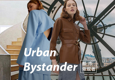 Urban Bystander -- Theme Fabric Trend for Womenswear