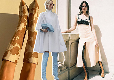 Tips of Clothing Collocation -- Looks of Fashion Bloggers on Instagram