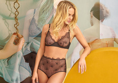 Fashion of Free Size -- The Key Item Trend for Women's Underwear