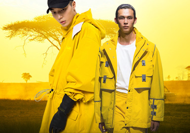 Dandelion -- The Thematic Color Trend for Menswear