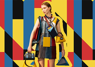 Reconstructing Mondrian Geometry -- The Pattern Trend for Womenswear